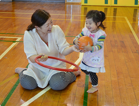トコトコ体育教室イメージ写真