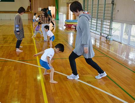 親子体操教室イメージ写真