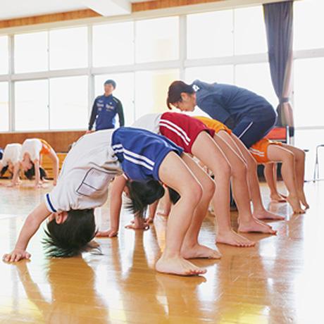 正課体育のイメージ写真